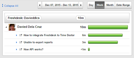 freshdesk time tracking