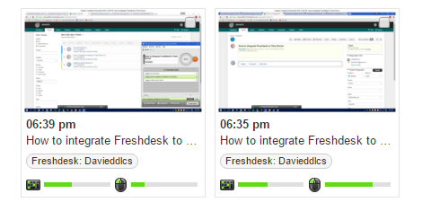 screenshots while working on freshdesk tickets