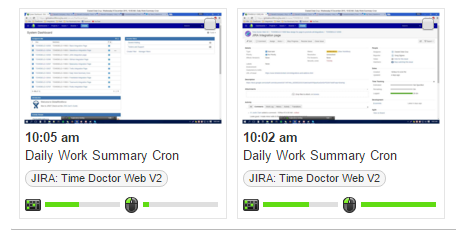 screenshot monitoring for jira issues