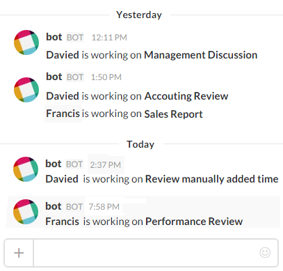 time doctor integration with slack